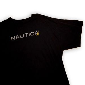 Black Nautica shirt